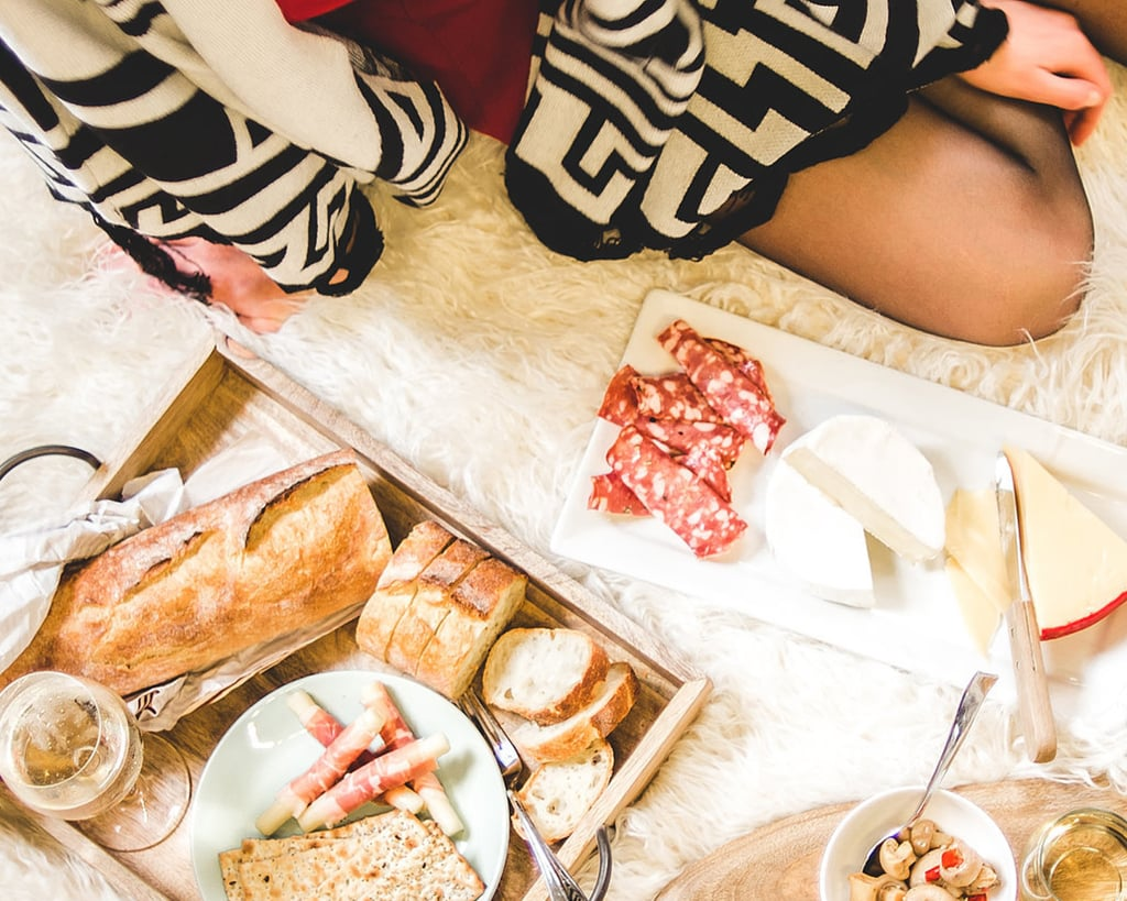 Host an indoor picnic