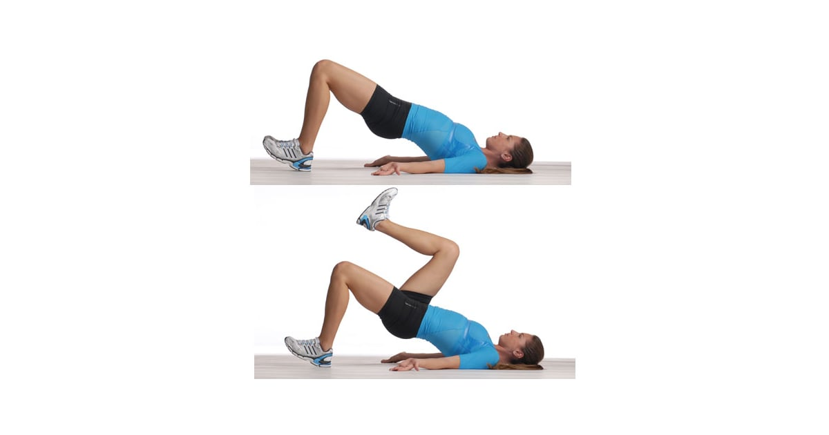 Glute Bridge With Marching The Best Core Exercises For