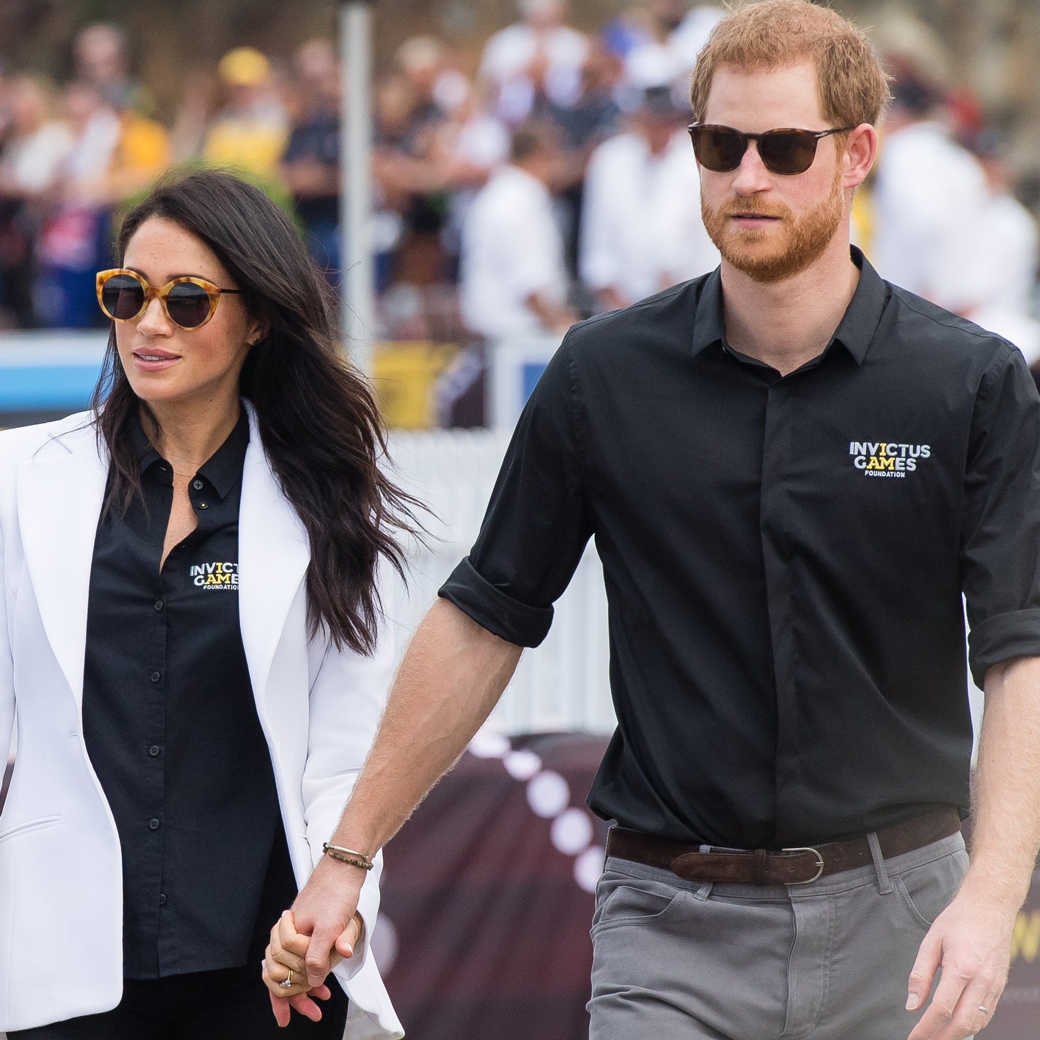 Flipboard: Prince Harry And Meghan Markle Get Emotional At