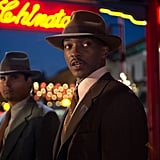 Michael Peña and Anthony Mackie in Gangster Squad.