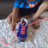 Easy Video to Teach Kids to Tie Their Shoes