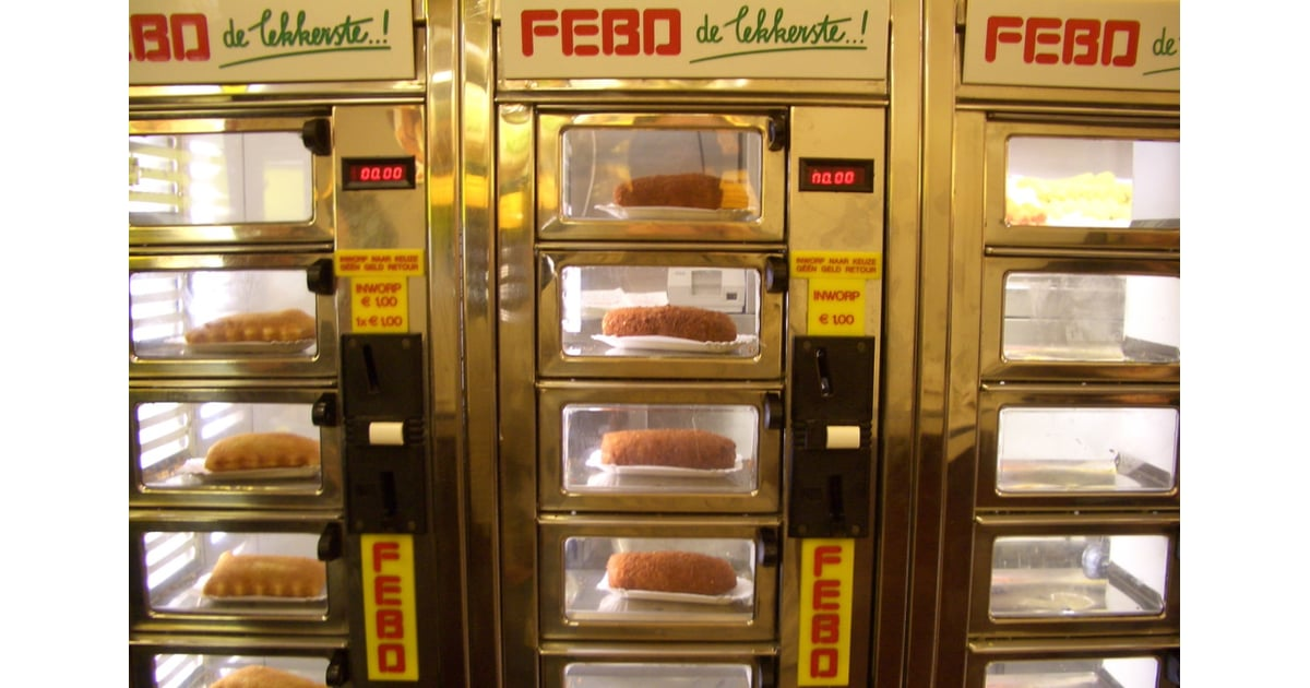 In Germany, Bread Vending Machines Are Replacing Bakers   POPSUGAR ...