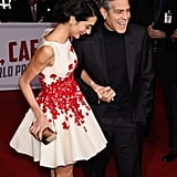 George and Amal Clooney Are Like a Walking Nicholas Sparks Movie Poster on the Red Carpet