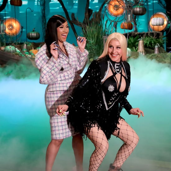 Ellen DeGeneres Dressed as Cardi B For Halloween Pictures