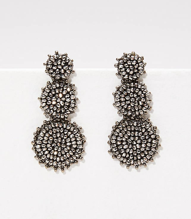 LOFT Beaded Drop Earrings