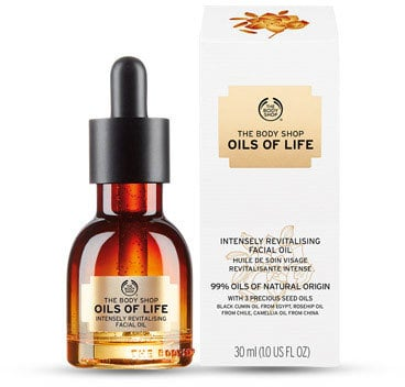 The Body Shop Oils of LifeTM Intensely Revitalising Facial Oil (£28)