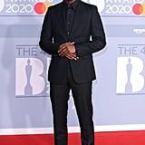 Micheal Ward at the 2020 BRIT Awards Red Carpet