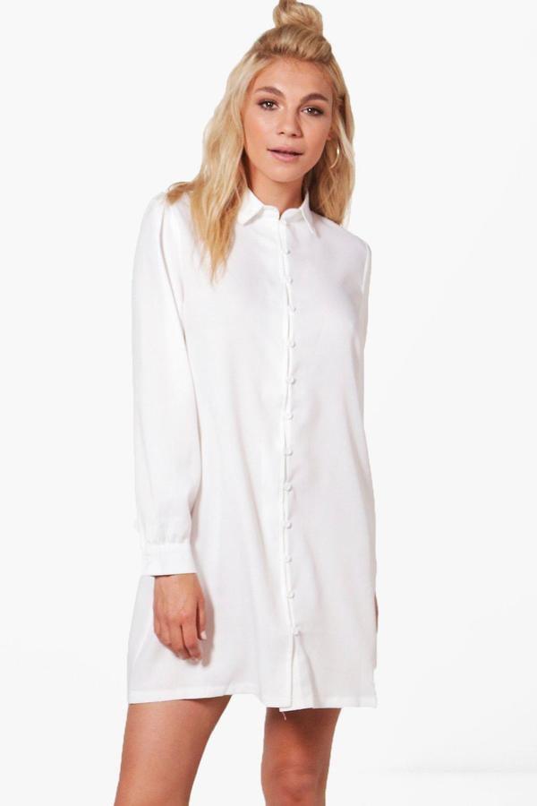 Boohoo Rosie Shirt Dress