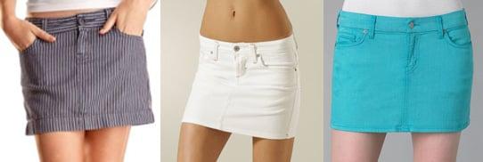 Trend Alert: The New Mini Skirts