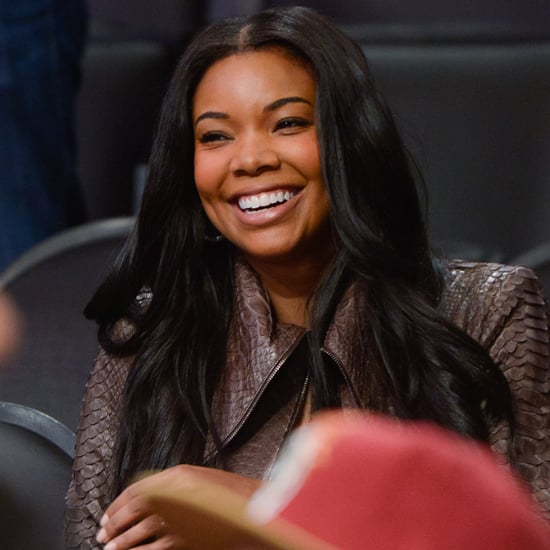Gabrielle Union Engagement Ring Pictures at Miami Heat Game