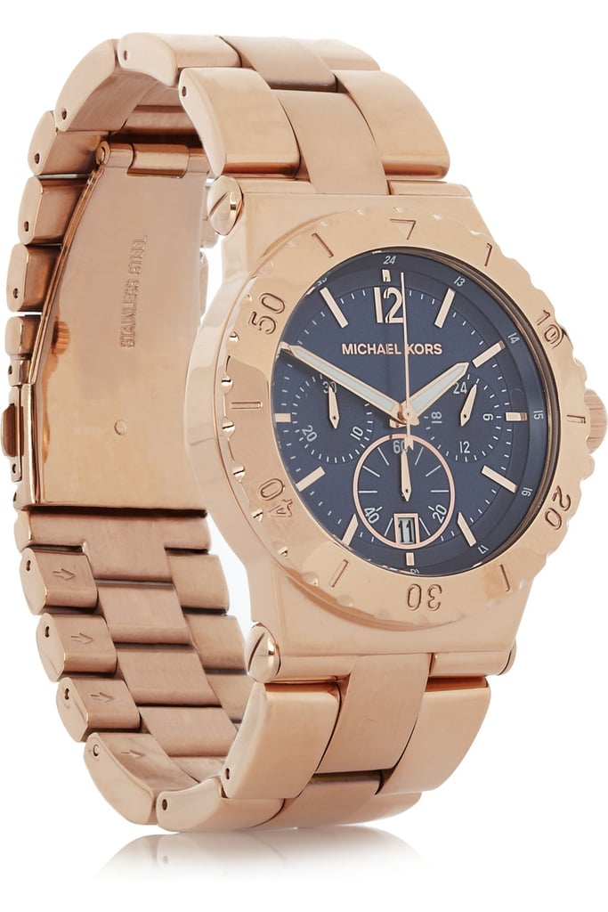Your friend will always think of you every time she dons this handsome, menswear-inspired Michael Kors stainless steel chronograph watch ($125, originally $250).
