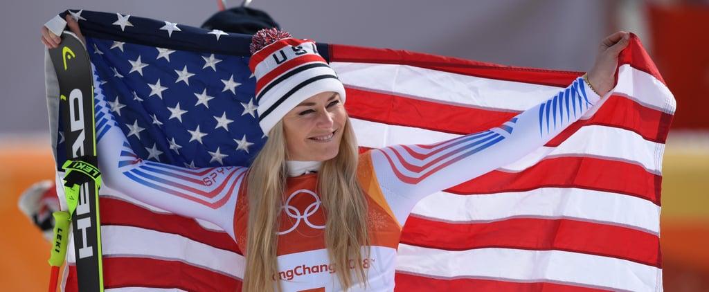 Lindsey Vonn Reacts to Winning Bronze in Downhill