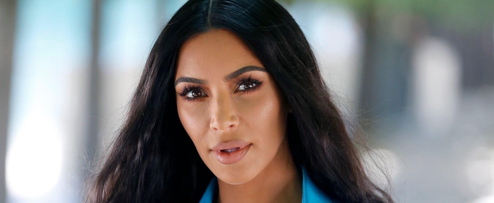 Kim Kardashian Explains North West's Straight Hair