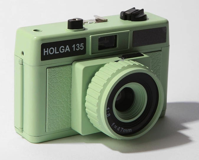This is like Instagram but for the girl who loves to play photographer at the holiday party. We particularly love this Urban Outfitters exclusive camera, the Holga 35mm ($48), which comes in a retro-chic pastel green hue and will look great with any outfit.