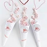Pink Popcorn Cone Printable