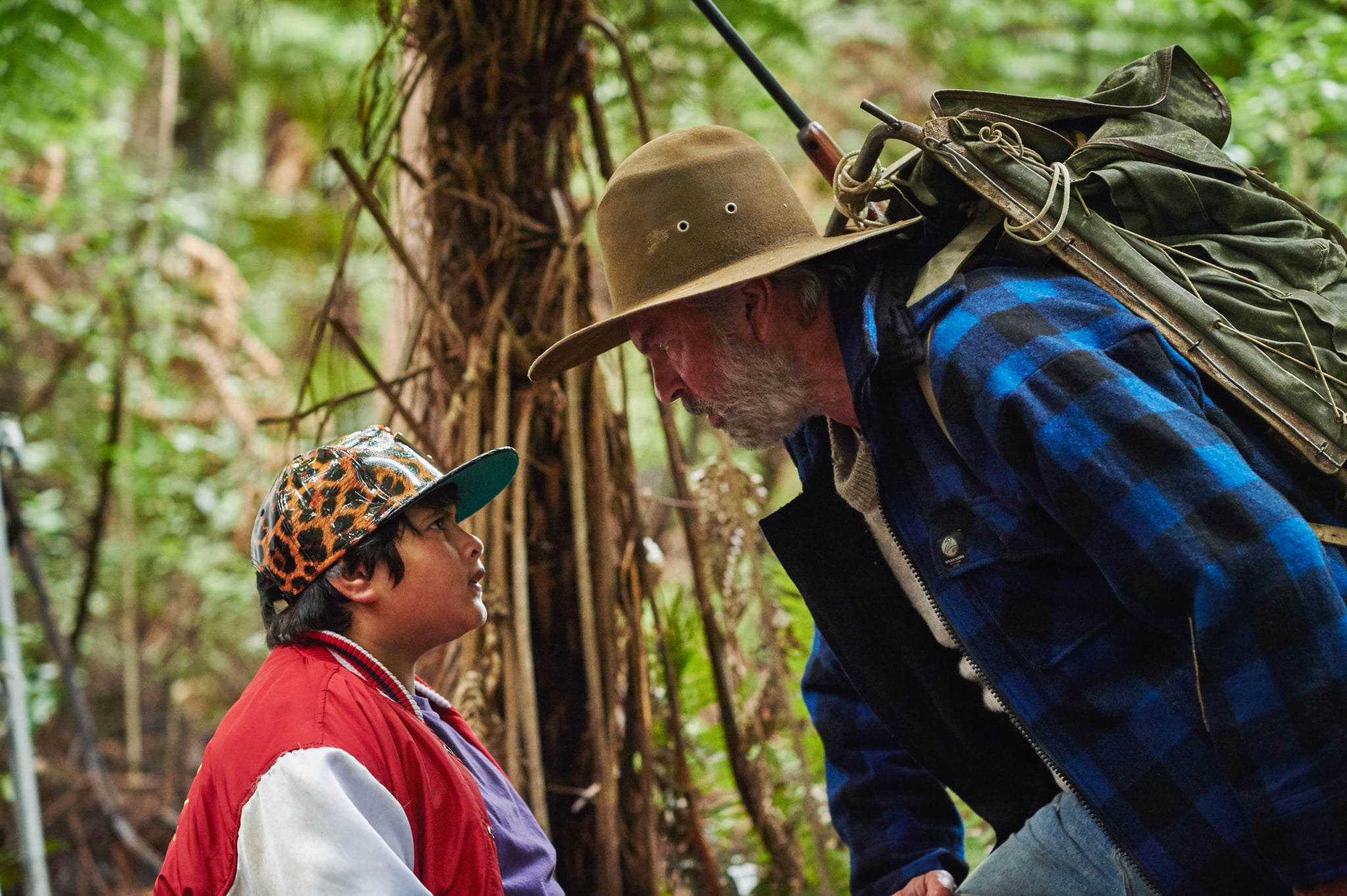 HUNT FOR THE WILDERPEOPLE, from left: Julian Dennison, Sam Neill, 2016.  The Orchard /Courtesy Everett Collection