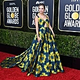 Taylor Swift's Groovy, Jewel-Toned Floral Dress at the 2020 Golden Globes