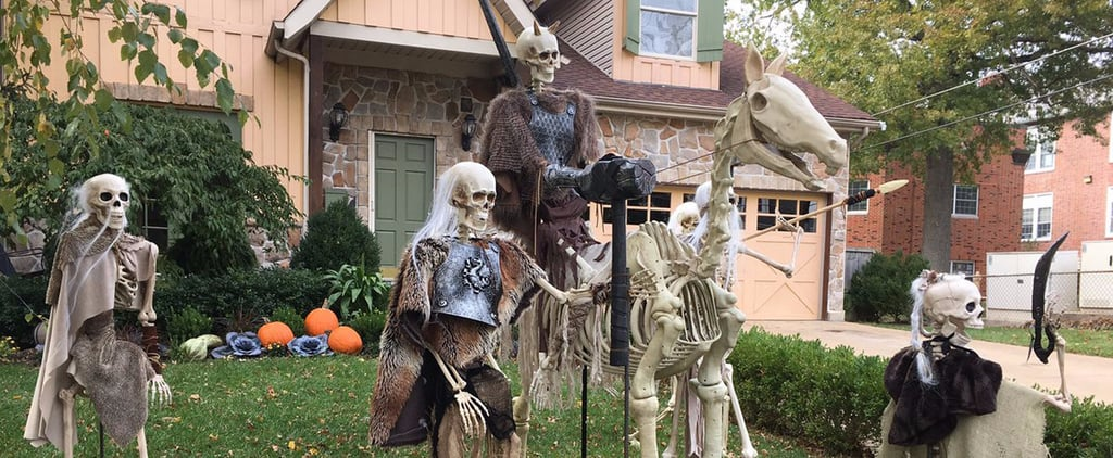 Game of Thrones Halloween Home Decor