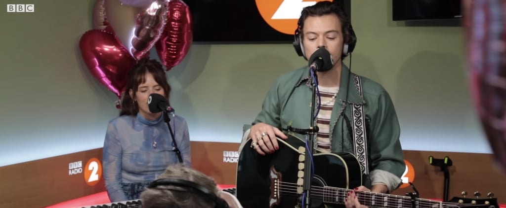 "Harry Styles Covers Joni Mitchell's ""Big Yellow Taxi"" Video"