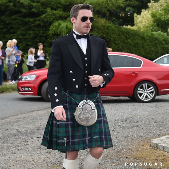 Richard Madden at Kit Harington's Wedding