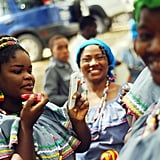 Women in Port-au-Prince, Haiti, gathered to celebrate International Women's Day.