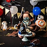 Star Wars R2-D2 Jedi First Birthday Cake Smash