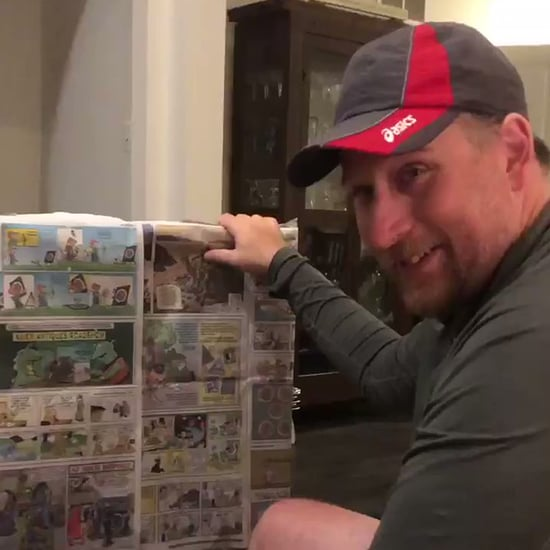 Video of Daughter Surprising Stepdad With School Notes