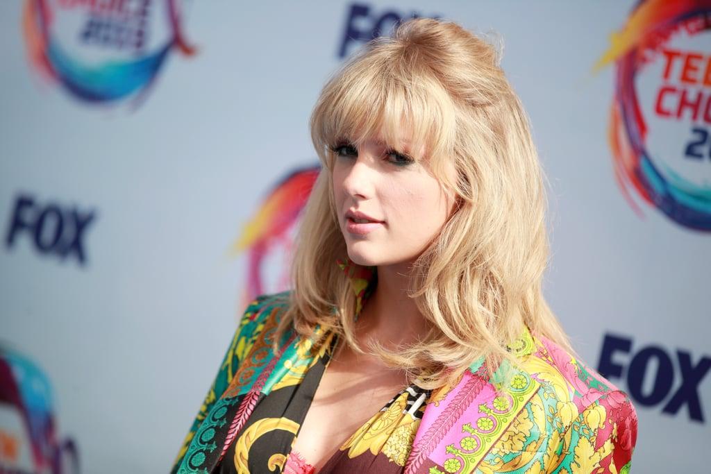 Taylor Swift at the Teen Choice Awards 2019