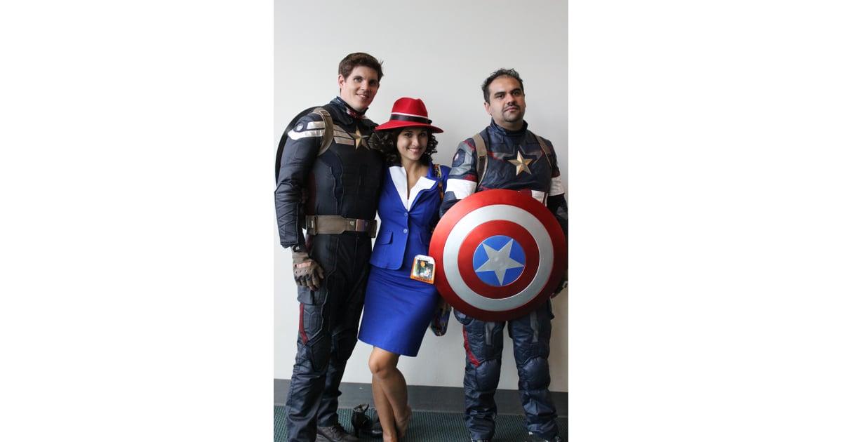 captain americas and agent carter unique group costume ideas popsugar tech photo 6