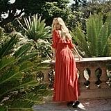 Dôen Sol Dress - Tomato