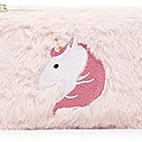 Fuzzy Unicorn Coin Purse