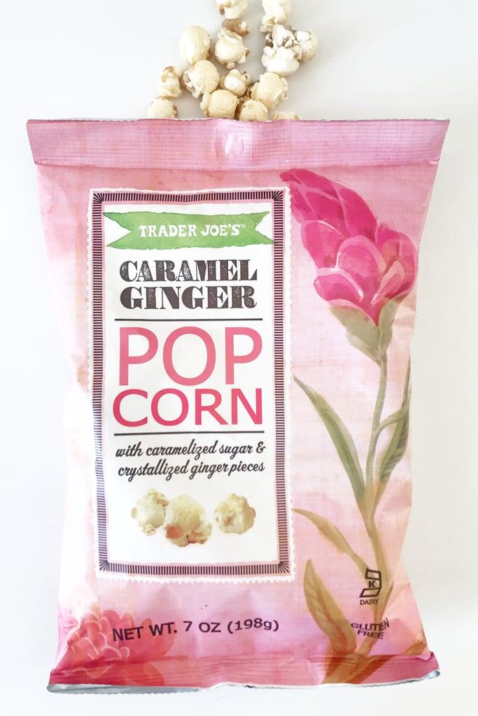 Caramel Ginger Popcorn ($3)