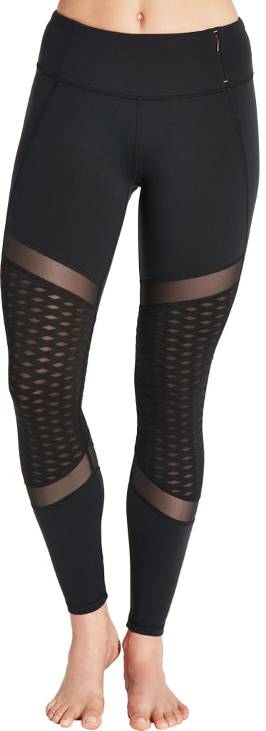 Spliced Panel Tights
