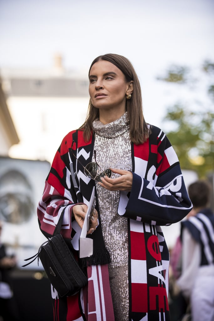 Style It With a Printed Coat