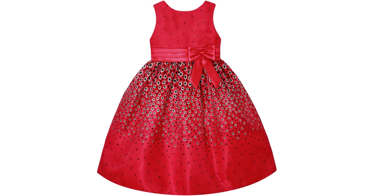 5516712d32d9 Holiday Red Sequin A-Line Dress ($54) | Best Toddler Dresses 2018 ...