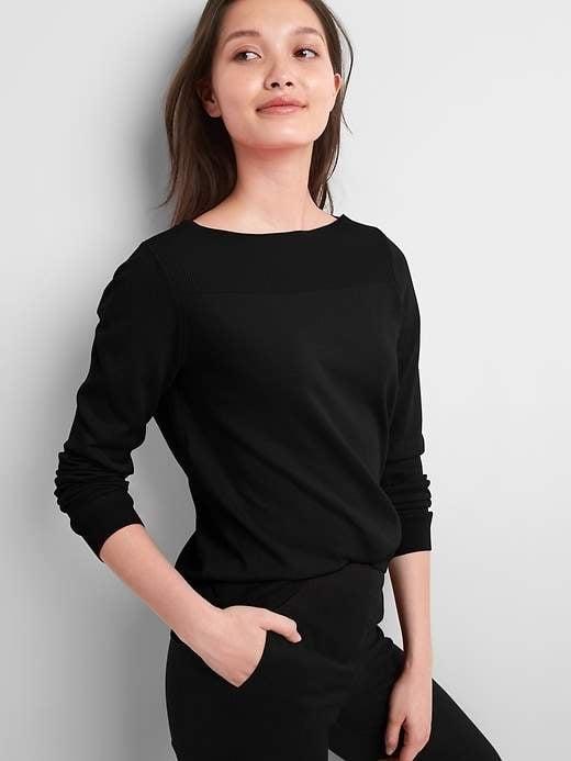 Gap Pullover Boatneck Sweater ($41, originally $45)