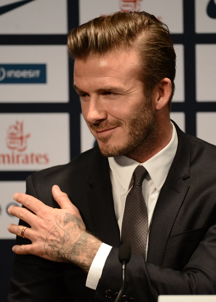 David Beckham Joins Paris St. Germain Soccer Team