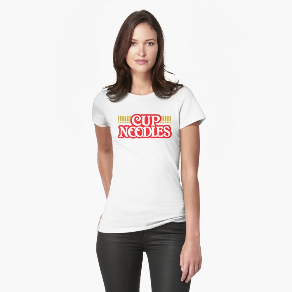 Red Bubble Cup of Noodles T-Shirt