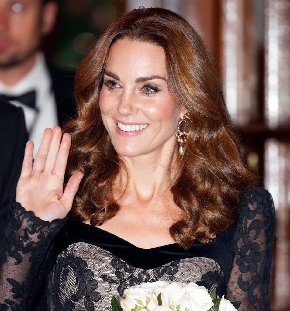 Kate Middleton's Ultra-Glossy Ringlets, 2019