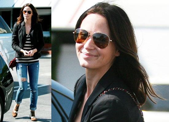 Photos of Emily Blunt in LA as She Plans Her Wedding to John Krasinski Find Out Wedding Details