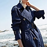 Genuine People Windbreaker Trench Coat