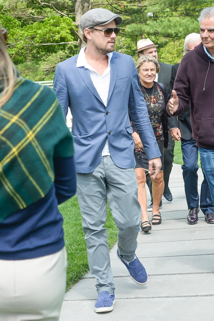 Leonardo DiCaprio attended the Brant Foundation Art Study Center in Greenwich, CT, for a special Andy Warhol exhibit in the middle of the month.  Source: Billy Farrell/BFAnyc.com