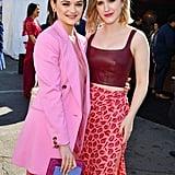 Joey King and Rachel Brosnahan at the 2020 Spirit Awards