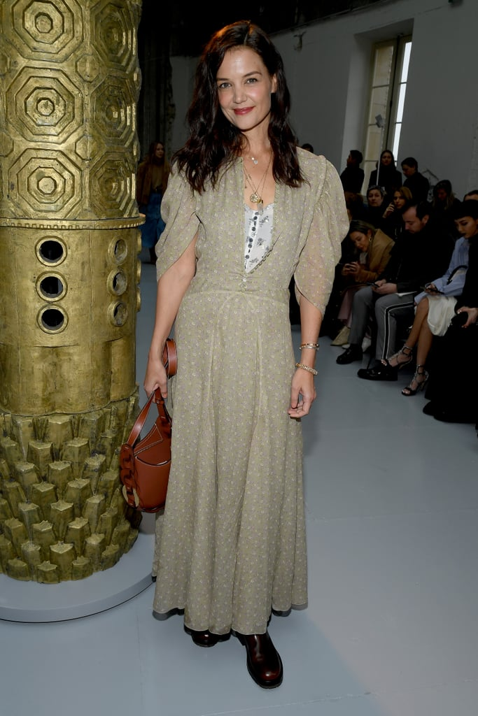 Katie Holmes at the Chloé Fall 2020 Show