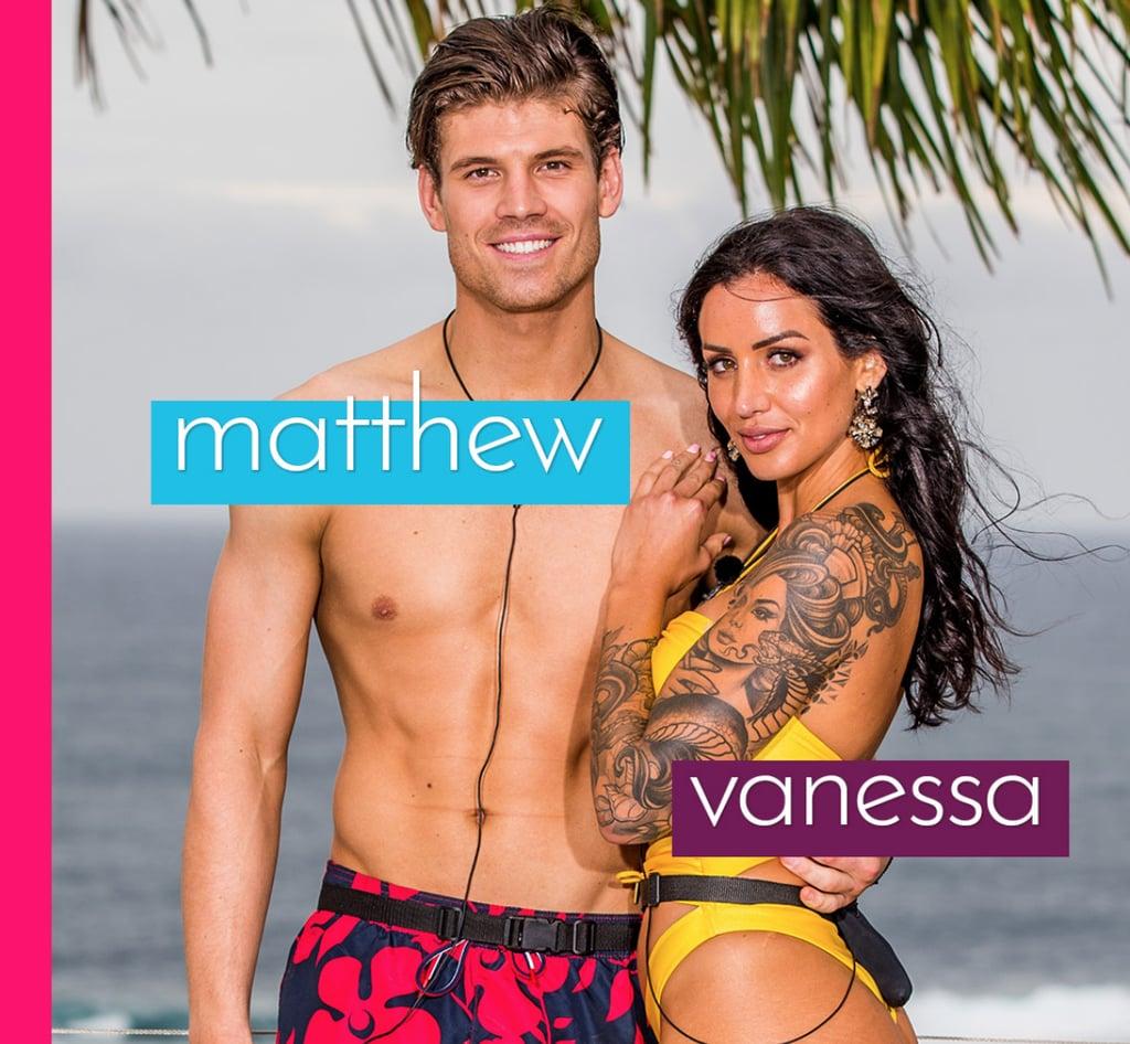 Vanessa and Matthew First Kiss Love Island Australia | POPSUGAR Celebrity Australia