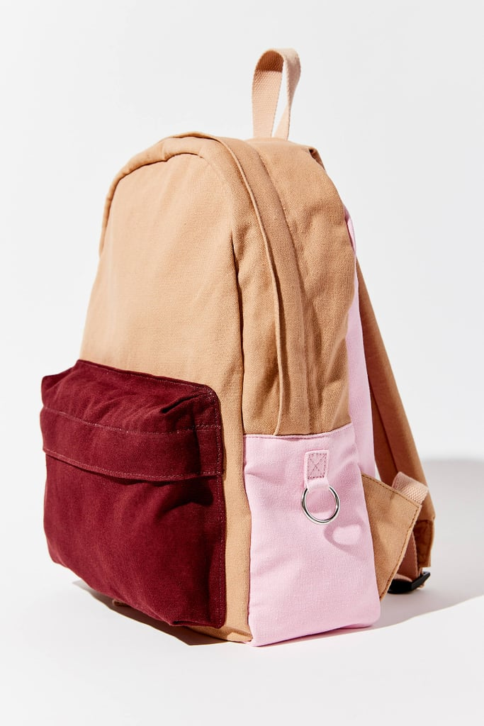 UO Multi-Colored Canvas Backpack