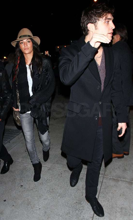 Pictures of Ed Westwick and Jessica Szohr