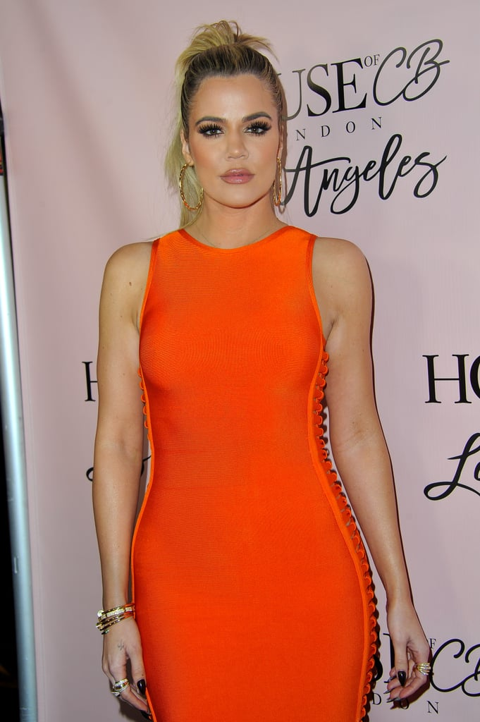 Khloe Kardashian With a High Ponytail in 2014