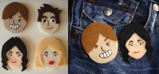 Mii Face Pins: Totally Geeky or Geek Chic?