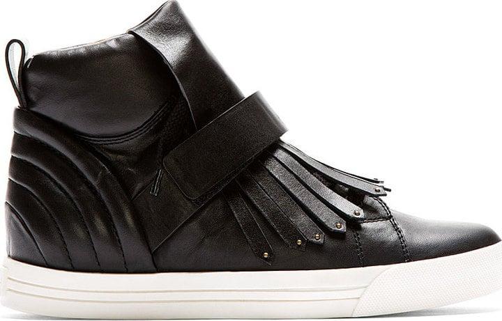 Marc Jacobs Black Tassel Talco High-Top Sneakers ($545)